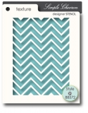 MEMORY BOX/ 88572 Simple Chevron maska